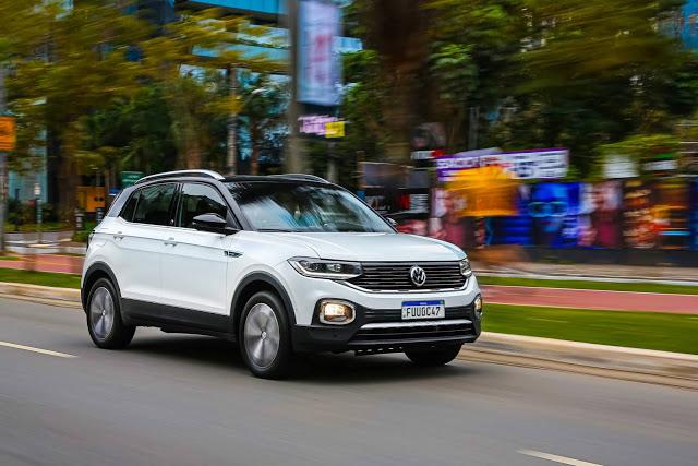 Volkswagen T-Cross 2021: fotos, preços e especificações