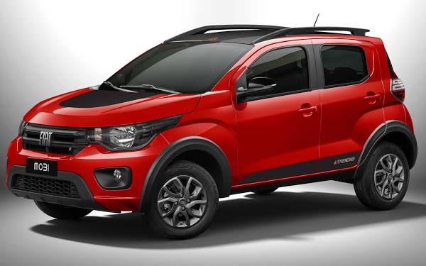 Fiat Mobi 2021 ganha versão aventureira Trekking - preços