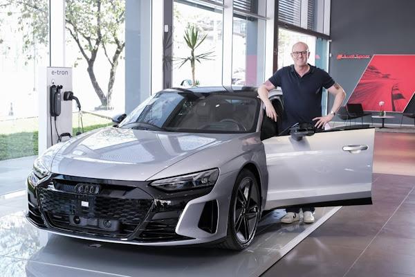 Audi entrega primeiros e-tron GT RS para os compradores - Brasil